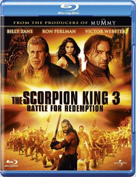 The Scorpion King 3 Battle for Redemption: 2012 BluRay 720p 700MB  دانلود فیلم