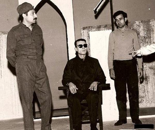 از راست : سعید پورصمیمی ،پرویز پورحسینی ، جمشید مشایخی