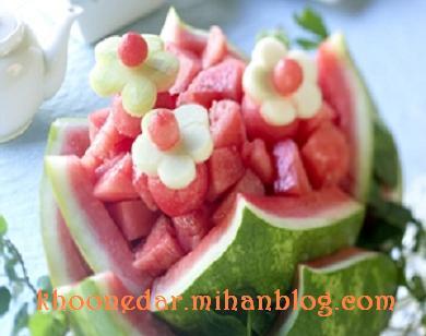 تزئینات هندوانه