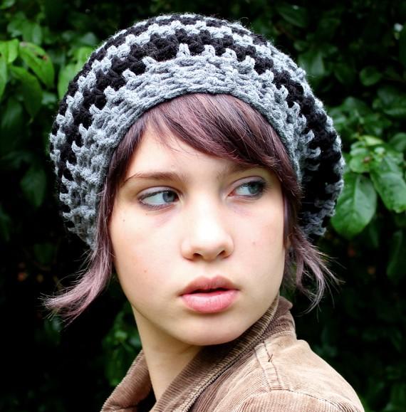 مدل شال و کلاه بافتنی دخترانه و زنانه 2012 Rojpix.Com