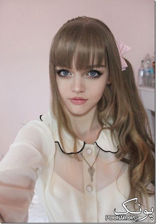 دختر 16 سالهی امریکایی که واقعا شبیه عروسک باربی است !!!