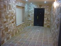 گالری نمای داخلی ساختمان اجرا شده با سنگ آنتیک