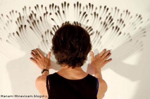 هنر انگشت های دست