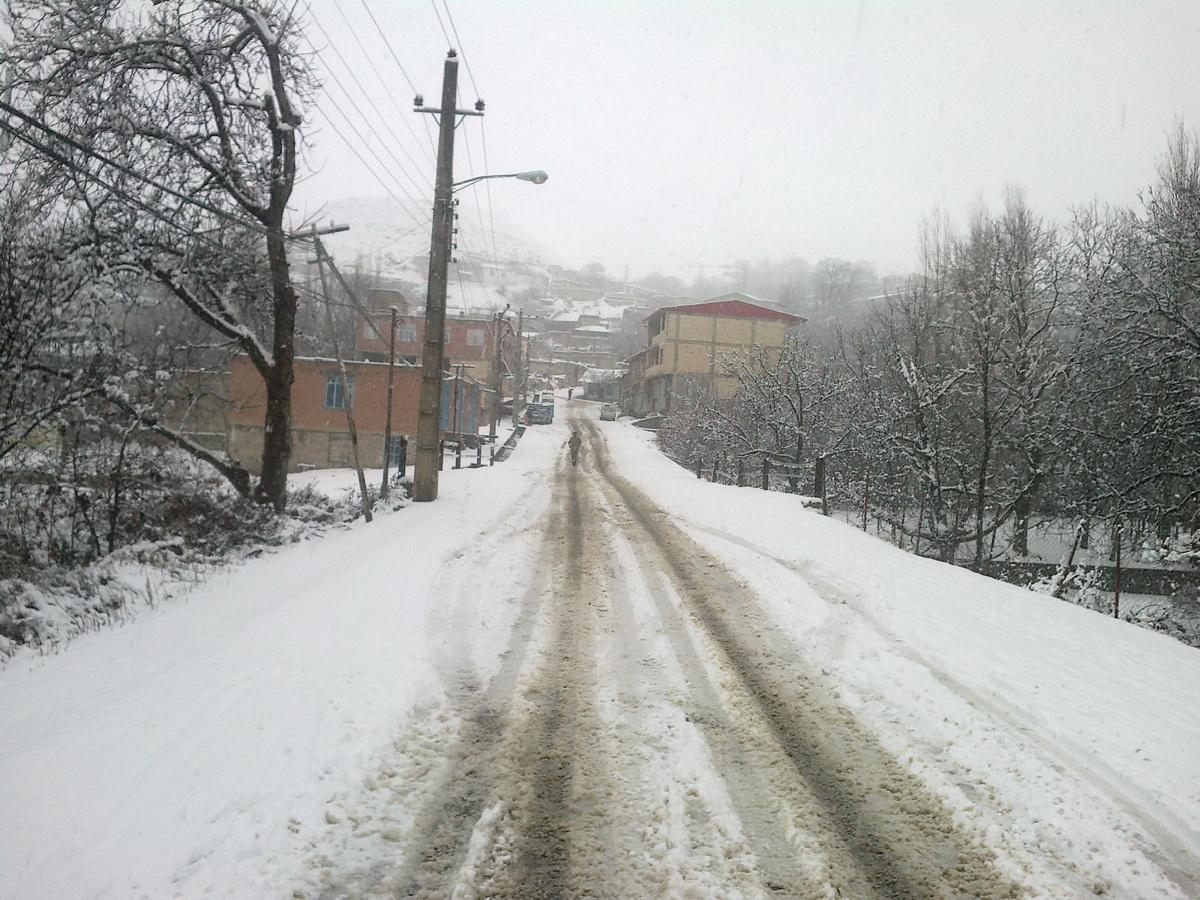 روستای شال + برف (8 بهمن 1390)