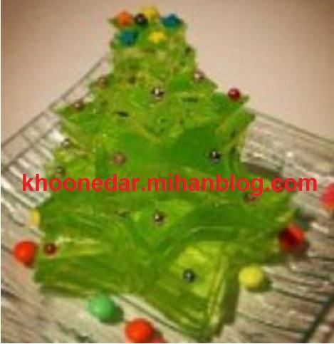 تزئین ژله Jelly decoration picture