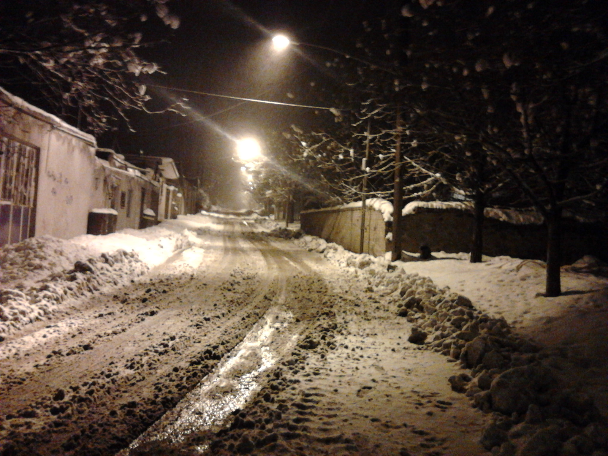 برف خیابان نانوایی ننیز