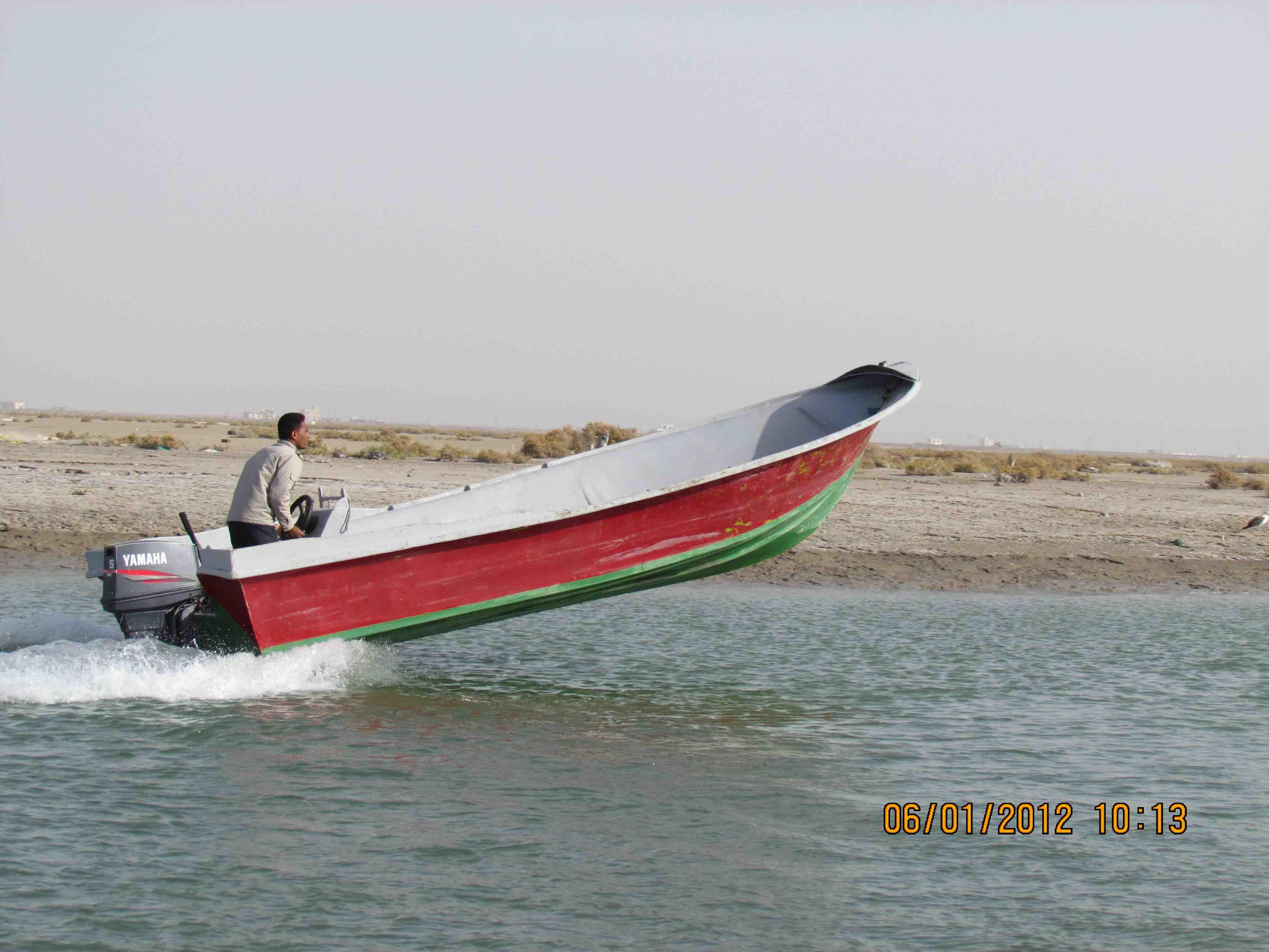 صالح هرمزی (ناخدای قایق مسافربری)
