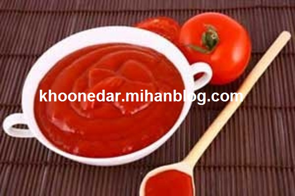 نگه داری رب درون قوطی فلزی tomato paste metal can