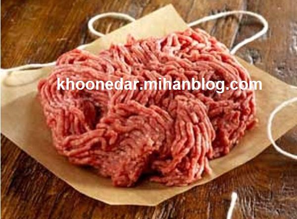 روش نگهداری گوشت چرخ کرده