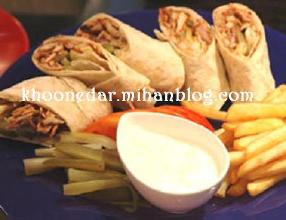 ساندویچ مرغ ( شاورما )