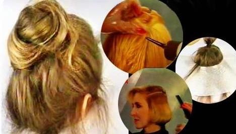 خريد آموزش رنگ كردن مو  مش زدن مو  زنانه دخترانه