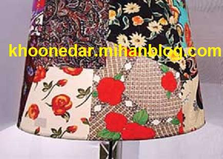 رنگ آمیزی و تزئین آباژور
