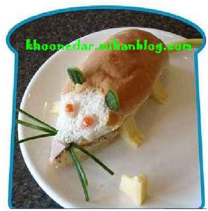 تزئین غذای كودك