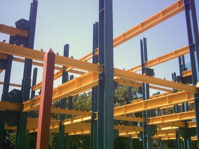 جزئیات اجرایی اسکلت فلزی 3 - گروه صنعتی پارسه سازه