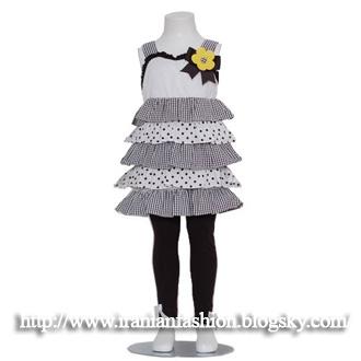 مدل لباس و جوراب شلواری بچه گانه دخترانه