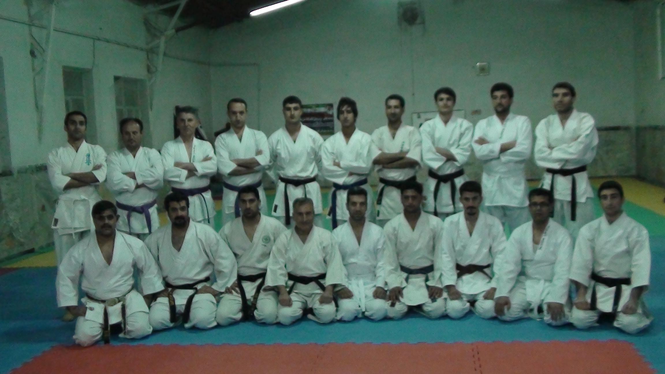 عکسهای نوشته کاراته شوتوکان کاراته اسلام آباد غرب - کلاس کاراته پیشکسوتان و ...