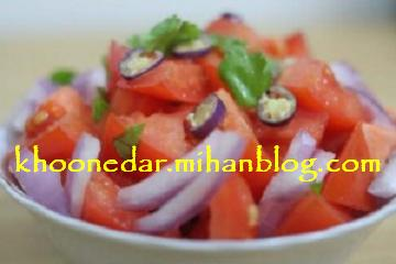 سالاد گوجه فرنگی (هندوستان)
