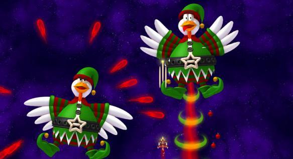 Chicken invaders 4 ultimate omelette christmas edition v4 10te