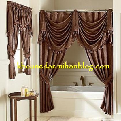 پرده حمام shower curtain