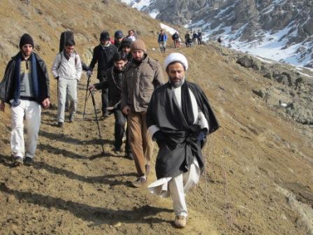 کوه نوردی استاد پناهیان