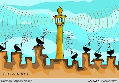 مسجد و رسانه ها و ماهواره ها