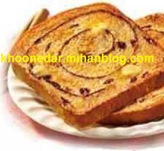 دستور تهیه نان برای صبحانه کودکان