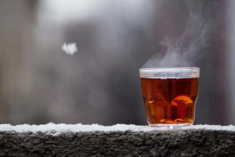 عکس چای آتشی