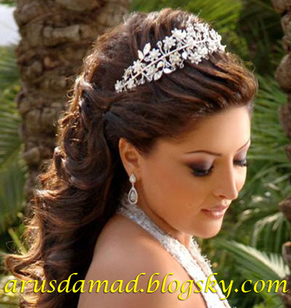 شنیون عروس