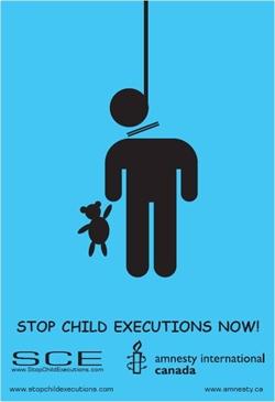 اعدام کودکان را متوقف کنید