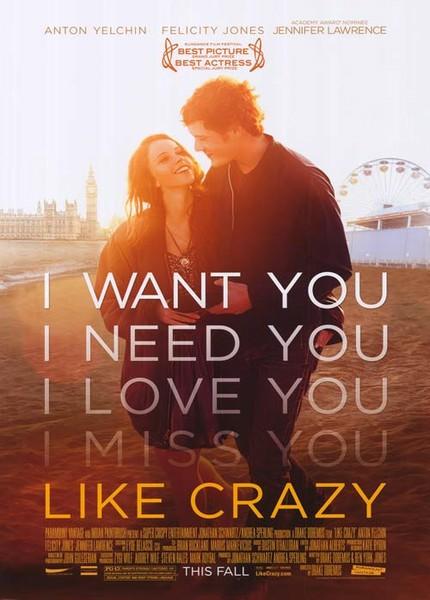 Like Crazy 2011  دانلود فیلم Like Crazy 2011