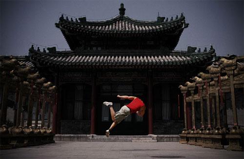 عکس های جدید و جالب ورزش پارکور - حرکات آکروبات freeing 3run