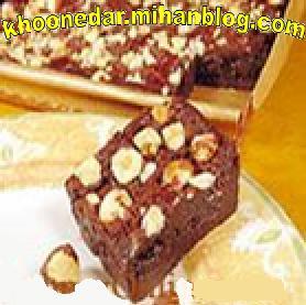 کیک با شکلات