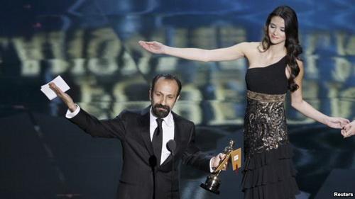 اصغر فرهادی با جدایی نادر از سیمین برنده اسکار شد