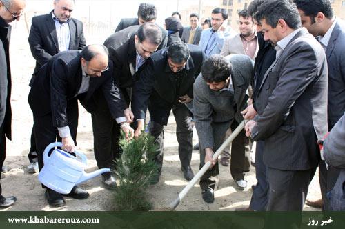 فضای سبز اندیشه - شهرستان شهریار