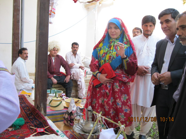 عکس حضورسیستانیهای گلستان در برنامه زنده شبکه2سیما/زابلی های گلستان در برنامه خانه ما