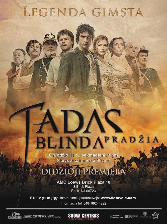 فیلم Tadas Blinda Pradzia 2011