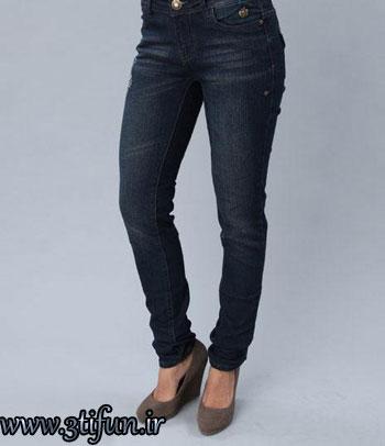 مدل جدید شلوار لی دخترانه 2012