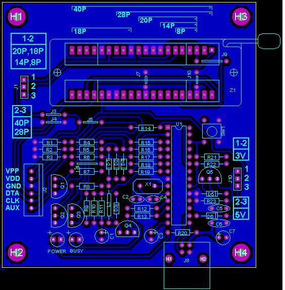 PICKit2 Clone PCB