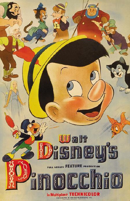 انیمیشن Pinocchio 1940