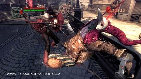 تصاویر زیبای بازی Devi May Cry 4