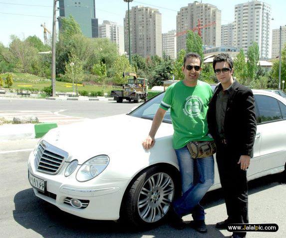 عکس ماشین شاهرخ استخری