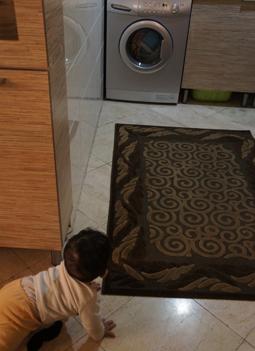 رایین و ماشین لباسشویی!