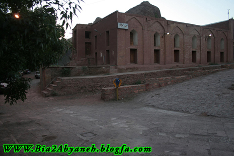 نمای کامل مسجد