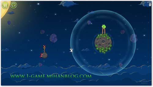 اسكرین شات های زیبا از بازی پرندگان خشمگین Space