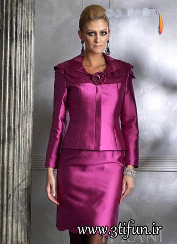 مدل های جدید کت و دامن مجلسی 2012