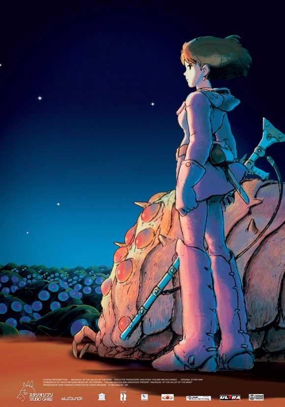 انیمیشن Nausicaa of the Valley of the Wind 1984