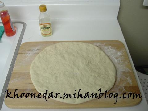 خمیر پیتزا به سبک ناپل
