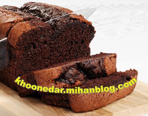 کیک شکلاتی با گردو