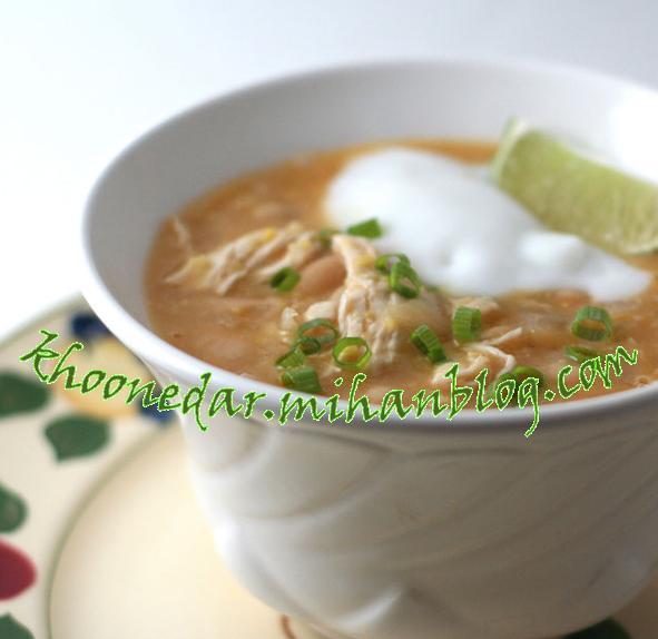 سوپ چیلی مکزیکی