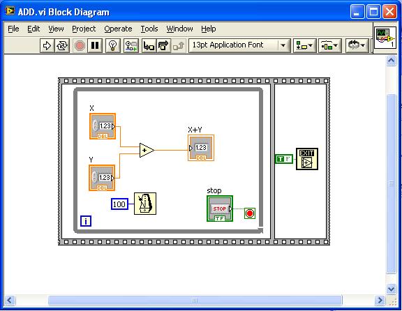 VI Block Diagram